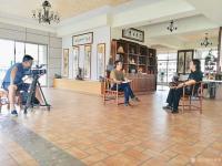 艺术家叶仲桥荣誉:以自己的实力签约中国教育电视【水墨丹青】【名家讲堂】栏目组,【图1】