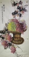艺术家徐如茂日记:国画花鸟画《珠光累累》《天香醉人归》; 病树前头万木春,但【图2】