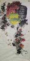 艺术家徐如茂日记:国画花鸟画《珠光累累》《天香醉人归》; 病树前头万木春,但【图4】