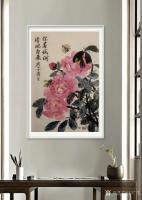 艺术家石广生日记:国画花鸟画《你若盛开清风自来》; 胡乱涂两笔,算是520情【图2】
