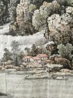 艺术家陈庆明日记:新创作的6尺国画山水画作品《春之韵》,愿祖国的江山春意盎然,【图2】