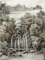 艺术家陈庆明日记:新创作的6尺国画山水画作品《春之韵》,愿祖国的江山春意盎然,【图3】