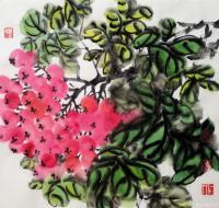 艺术家王立军日记:国画花鸟画《鸿运当头》两幅作品,请欣赏。【图0】