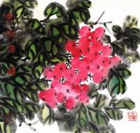艺术家王立军日记:国画花鸟画《鸿运当头》两幅作品,请欣赏。【图1】