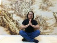 艺术家孙传海日记:烙画《黄山晓雲圖》创作进行中,作品尺寸2.88m×1.98m【图2】