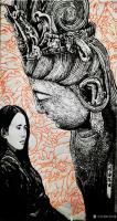 """艺术家马培童日记:""""焦墨画特点之神从形生""""童心写历(27)   创作焦墨画好【图0】"""