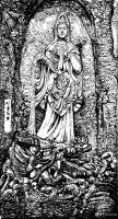 """艺术家马培童日记:""""焦墨画特点之神从形生""""童心写历(27)   创作焦墨画好【图1】"""