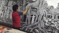 """艺术家马培童日记:""""我走了一条无人走的路——焦墨心路""""童心写历(29)   【图0】"""