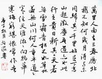 艺术家陈培泼日记:学书系列:录《裴将军诗》,《望江南·西方好》; 《裴将军诗【图3】
