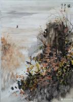 艺术家陈刚日记:感情的潮水化作跌宕的音符,笔墨触纸时的撘斷使我终于看清了阴性【图1】