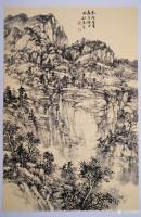 艺术家阎敏日记:太行山大峡谷写生作品欣赏,庚子年秋月阎敏写生系列作品。【图0】