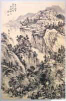 艺术家阎敏日记:太行山大峡谷写生作品欣赏,庚子年秋月阎敏写生系列作品。【图2】
