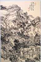 艺术家阎敏日记:太行山大峡谷写生作品欣赏,庚子年秋月阎敏写生系列作品。【图3】