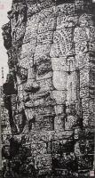 艺术家马培童日记:焦墨刻石皴法:   焦墨艺术,一定要给观众精神上的享受,和【图4】