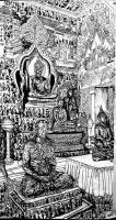 """艺术家马培童日记:""""佛魂灵气""""童心写历(42)   这两天又翻出泰國速写和照【图3】"""