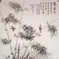 艺术家高志刚日记:国画花鸟画创作作品《节节高升》 【規格】:四尺整紙138x【图0】