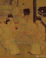 """艺术家马培童收藏:""""对话周文矩""""--潘玮萱评鉴马培童(14)   周文矩(见【图2】"""