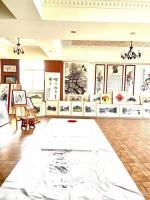 艺术家叶仲桥日记:广东汉莎画院全体书画家向各位社会精英人士致以新年的祝福和问候【图1】