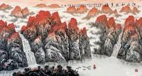 艺术家叶向阳日记:国画山水画《江山如此多娇》为庆祝中国共产党成立100周年而作【图0】