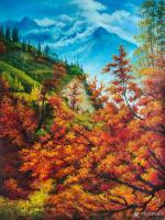艺术家黄联合日记:绘画的过程是一种享受,无论作品的结果如何。都是在享受绘画的过【图0】