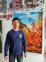 艺术家黄联合日记:绘画的过程是一种享受,无论作品的结果如何。都是在享受绘画的过【图1】