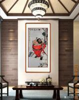艺术家何学忠日记:《观何学忠钟馗画有感》   何学忠,生于凉州,长于凉州,号【图0】
