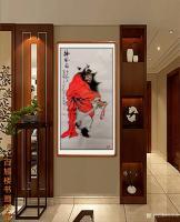 艺术家何学忠日记:《观何学忠钟馗画有感》   何学忠,生于凉州,长于凉州,号【图2】