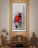 艺术家何学忠日记:《观何学忠钟馗画有感》   何学忠,生于凉州,长于凉州,号【图3】