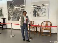 """艺术家罗树辉收藏:4月7日至8日,受邀参加""""扬州世界园林博览会暨全国书画名家作【图3】"""