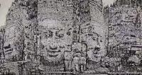 艺术家马培童日记:(马氏焦墨画)我的作品,原则上坚持不卖的。其实,我的画,不卖【图3】