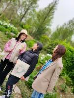 艺术家罗虹明生活:方彩植物园真的很美,每个角落都是一幅画。春日,携友踏青写生。【图4】
