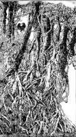"""艺术家马培童日记:以写论道(82)马培童焦墨画感悟笔记;   """"写""""是一个文【图1】"""