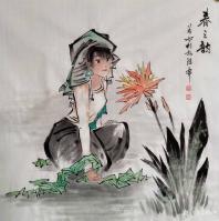 艺术家谷风日记:都是一个人画的,看有什么区别? 这就是手绘作品和同复印的区【图0】