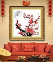 艺术家叶向阳日记:庆祝中国共产党成立一百周年:毛主席诗意画《待到山花烂漫时她在【图2】