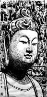 艺术家马培童日记:《原始记忆——佛教造像艺术》童心写历(89)马培童焦墨画感悟【图1】