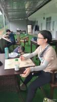 艺术家阎敏生活:溪峡颂-2021年深圳画家画恩施写生采风活动【图1】