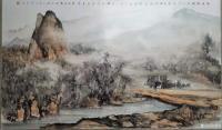 艺术家陈刚日记:国画水粉山水画画《浙南楠溪》《圣湖公船渡》《兀立孤桅梦》,辛【图1】