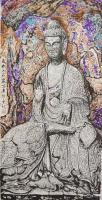 艺术家马培童日记:《焦墨焦彩枯笔骨法用笔》马培童焦墨画感悟笔记-童心写历(10【图2】