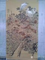 艺术家马培童收藏:对话边明代宫廷画家景昭工笔花鸟画,潘玮萱评马培童(46) 【图3】