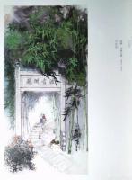 """艺术家李伟强荣誉:李伟强国画《花洲古渡》在庆祝中国共产党成立100周年""""百年辉【图0】"""