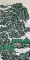 艺术家马培童收藏:对话仇英山水人物画,潘玮萱评马培童(50)   仇英江苏太【图1】