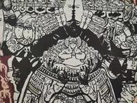 艺术家马培童日记:创作焦墨画二郎神《天使佑中华》马培童焦墨画感悟笔记-童心写历【图2】