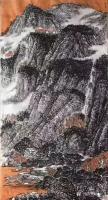 艺术家马培童收藏:对话蓝瑛画山水画,潘玮萱评马培童(53)   蓝瑛,浙江杭【图2】