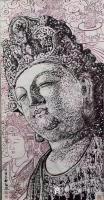 艺术家马培童收藏:对话清代黄慎人物画,潘玮萱评马培童(53)    黄慎,清【图4】