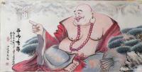 """艺术家尚建国日记:边画边说:我赞同师兄高见:""""佛法亦是活法""""。       【图0】"""