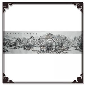 暴永和国画作品《【山水】作者暴永和》价格4800.00元