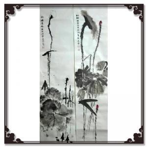 暴永和国画作品《【荷塘】作者暴永和》价格720.00元