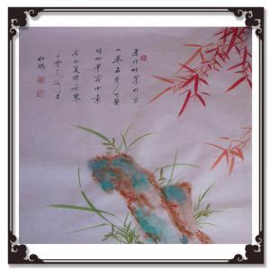 陈锡顺书法作品《【朱作竹果做景】作者陈锡顺》价格480.00元