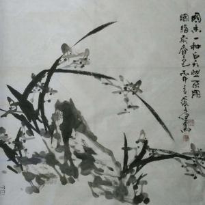 张文健国画作品《【水墨简笔系列六】作者张文健》价格480.00元