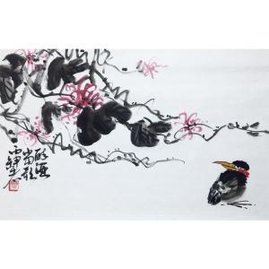 曹金华国画作品《【醉酒当歌】作者曹金华》价格480.00元